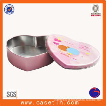 Fancy Cosmetics Tin Box OEM Cosmetic Box