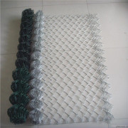 Hot-dipped galvanized knitted temporary chain link fence