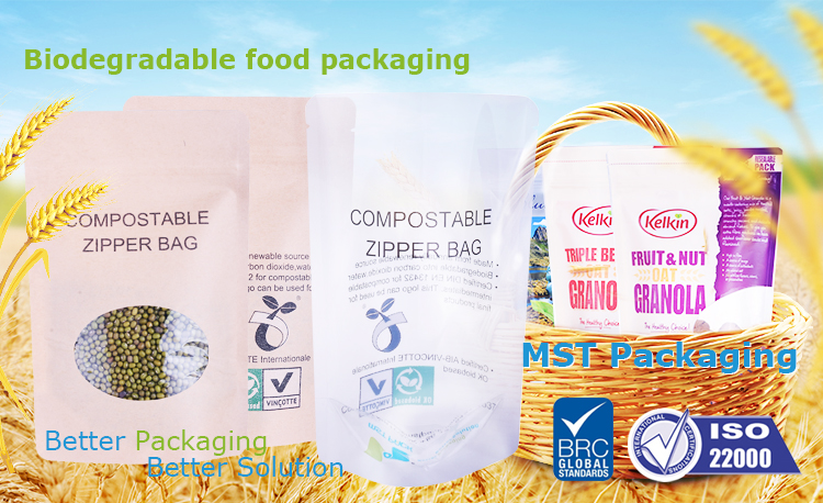 biodegradable bag Pouch