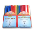 Chanukah Candles Colored Spiral Taper Candles