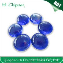 Cobalt Blue Glass Gemstone Fire Pit