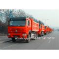 Camión volquete de arena Howo ZZ3257N3847A