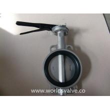 Vanne à papillon en acier inoxydable (D71X-10/16)