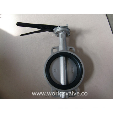 Stainless Steel Wafer Type Butterfly Valve (D71X-10/16)