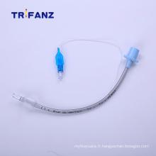 Manchette en silicone pour tube endotrachéal