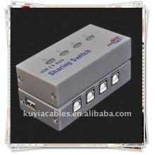 4 PUERTA USB2.0 AUTO SHARING SWITCH HUB PARA EL TECLADO DEL ESCÁNER DE LA IMPRESORA