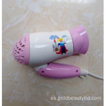 Uso popular en todo el mundo Safe Functional Kids Hairdryer