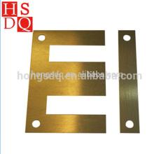 Noyau de transformateur de stratification d'EI de service d'OEM avec le trou de perforation