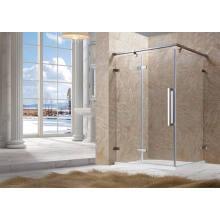 Verre de plaque de sécurité, verre de douche, vitrail de verre