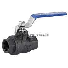 Wcb 2PC Screwed Ball Valve