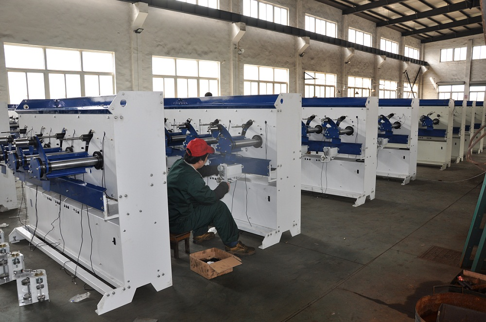 High Speed Winding Machine Assemble Area