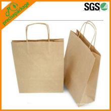 recycled eco plain brown kraft paper bag