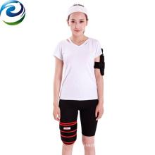 Design elegante fácil operação melhor efeito de fibra de carbono aquecida envoltório de perna
