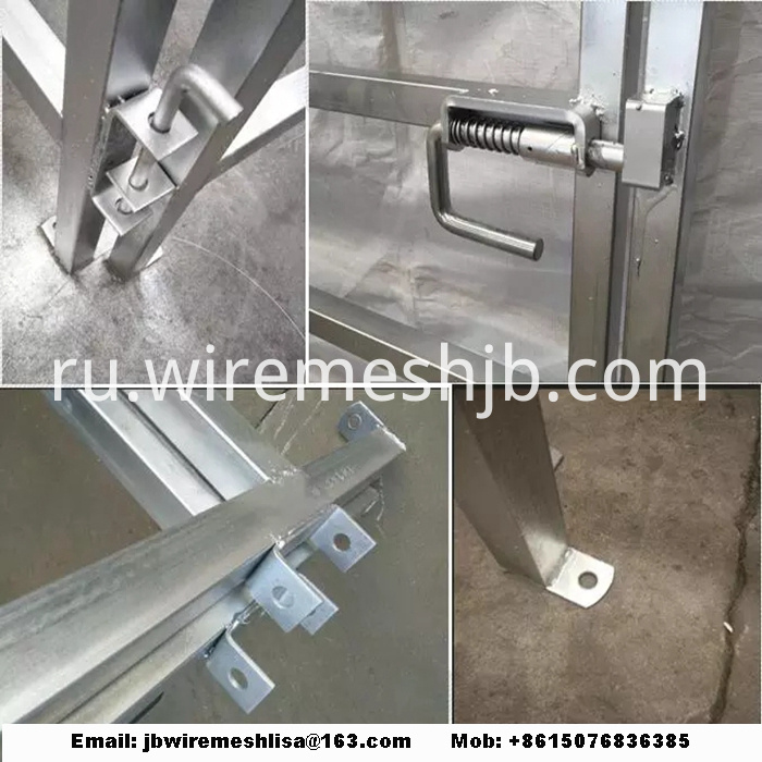 Galvanized Portable Horse Fence Panel