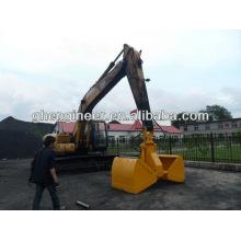 Excavatrice hydraulique Clamshell Bulk Grab