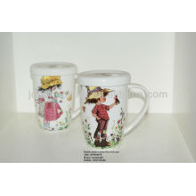 hot selling A grade children lover's fine royal bone china coffee mug kid product