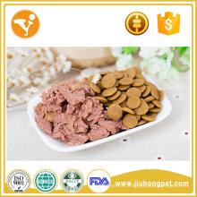 Sauté de poulet Aliments bouillonnants de chat humide Halal Cat Food