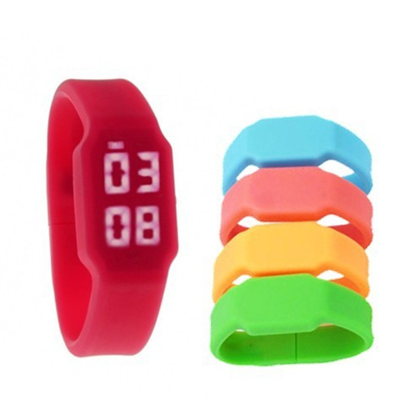 Colorful Silicone USB Flash Drive