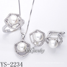 Fashion Jewellery Cultured Pearl Set 925 Silver (YS-2234)