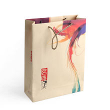 Customize Print Logo Shopping Gift Paper Bag