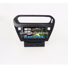 GPS navigation / voiture Lecteur DVD / Auto GPS + miroir Link + FM + BT mains-libres + GPS intelligent navigateur pour Peugeot 301
