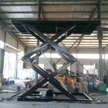 Table élévatrice à ciseaux hydraulique réglable en hauteur