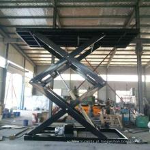 Mesa de elevação de tesoura hidráulica ajustável em altura