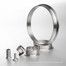 Aço Inoxidável 3A Tri Clamp Ferrule Sanitary Fitting
