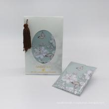 customized design vermiculite scented sachet stones in paper box