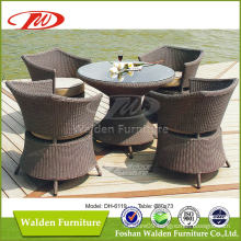 Wicker Furniture Rattan Dining Set (DH-6119)