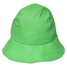 Green PU Rain Hat /Rain Cap/Raincoat for Adult