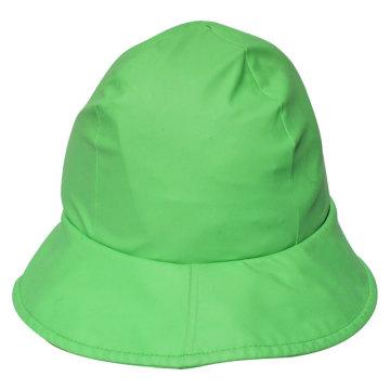 Green PU Rain Hat /Rain Cap/Raincoat for Adult