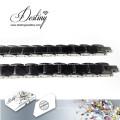 Destiny Jewellery Crystals From Swarovski Bracelet Black Ceramics Bracelet