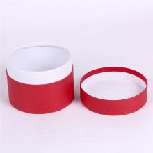 Caja de regalo redonda de empaquetado del cilindro de cartón