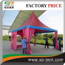 Tentes et marquises colorées sur mesure Fournisseurs de Chine à l'étranger Utilisation officielle