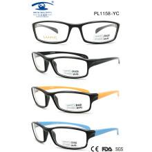 2015 Nice Square Plastic Colourful Eyewear Frame (PL1158)