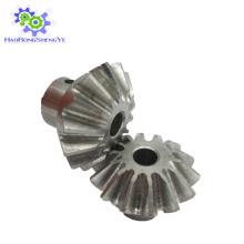 Покрынный цинк/ Гальванизировал изготовление Конического зубчатого колеса
