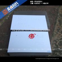 Plantilla de diseño de tarjeta de nombre en relieve de pantalla de seda