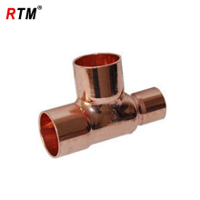 1/4 inch copper tee tube fitting