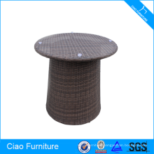 Outdoor Rattan Round Tea Table