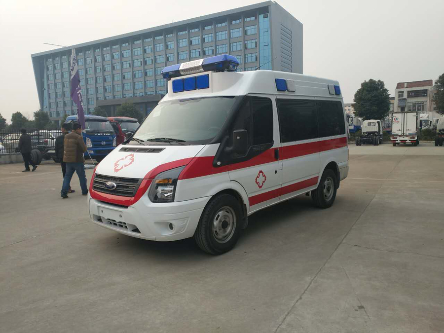 ford ambulance supplier