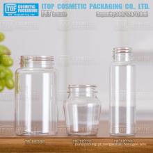 120ml 300ml boca larga excelente qualidade devenda cor personalizável redondo plástico garrafa pete