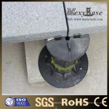 Pedestal plástico ajustable de la altura para la baldosa cerámica de Foshan