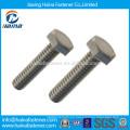 China Proveedor ASTM A325 A490 B7 B8 acero inoxidable pesado perno hexagonal, perno de cabeza hexagonal
