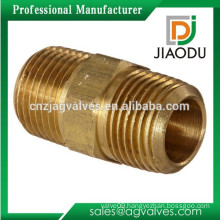 Brass Male Hexagon Nipple Pipe Fitting Copper Threaded Nipple