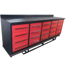 Good quality metal 20 drawer workbench cabinets for garage took keep use