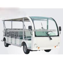 23 Sitzer Jahrgang elektrische Touristenwagen Sightseeing Cart Bus Golf Cart zum Verkauf, CE, modisch