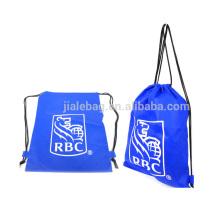custom non woven backpack drawstring bags