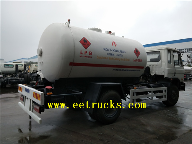 10 CBM LPG Gas Cylinder Filling Trucks