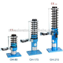 Amortiguador de aceite de elevación exterior de muelle para diferentes capacidades